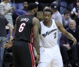 Wizards v/s Heat 03/30/11